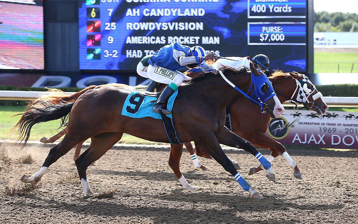 Fillies Streakinlilwagon, Ah Candyland win Trials for $100,000 Alex Picov Memorial Futurity Final