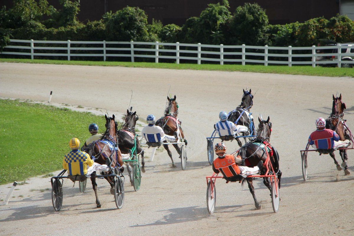 Bain vs. Barnsdale: Down the Stretch in Leamington Raceway Youth Handicapping Challenge